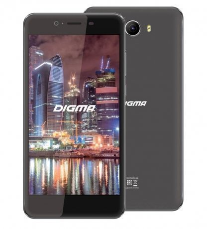 Смартфон Digma Flash 4G VOX 8Gb Black digma vox s502 3g