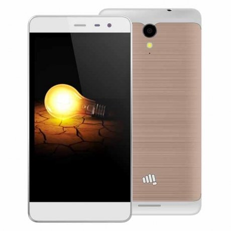 Смартфон Micromax Q4202 Champagne Gold смартфон micromax bolt q379 yellow