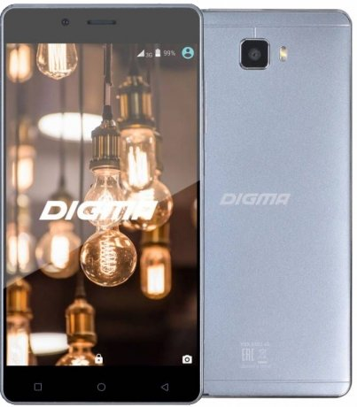 Смартфон Digma S502 4G VOX 8Gb White смартфон digma vox s502 4g белый