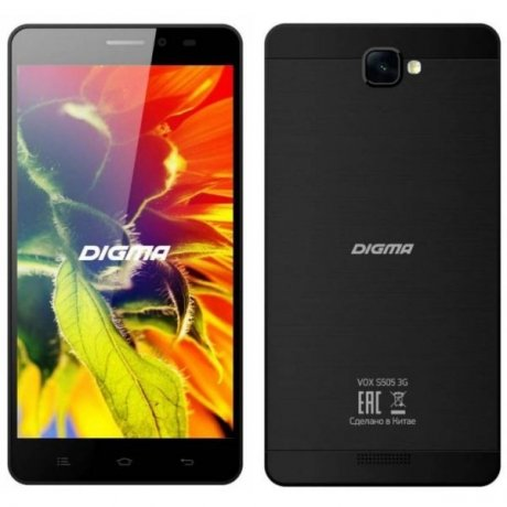 Смартфон Digma S505 3G Vox 8Gb Black смартфон digma linxa400 black