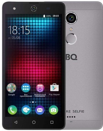 Смартфон BQ Mobile BQ-BQS-5050 Strike Selfie Gray смартфон bq mobile 5050 strike selfie gold