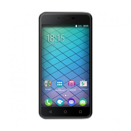 Смартфон BQ Mobile 5059 Strike Power Grey bq mobile bq bqs 5050 strike selfie розовый