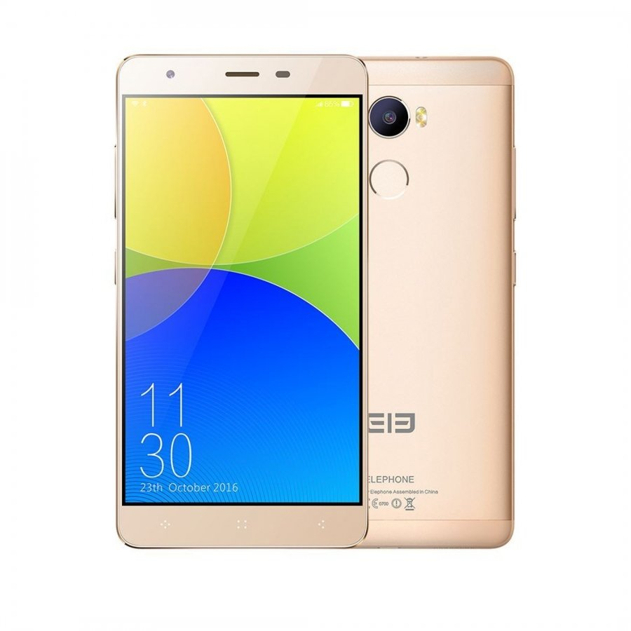 Смартфон Elephone C1 Ram 2GB 16Gb Gold leagoo m5 plus 2gb 16gb smartphone white