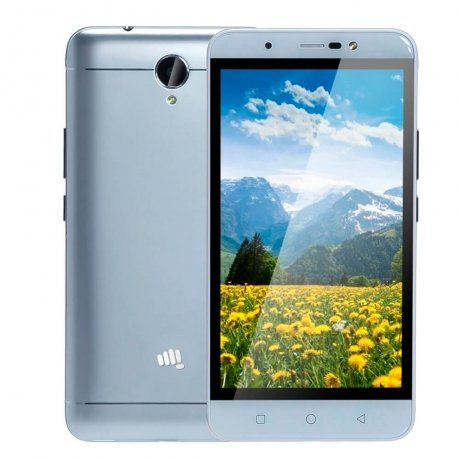 Смартфон Micromax Q398 Silver смартфон micromax bolt q379 yellow