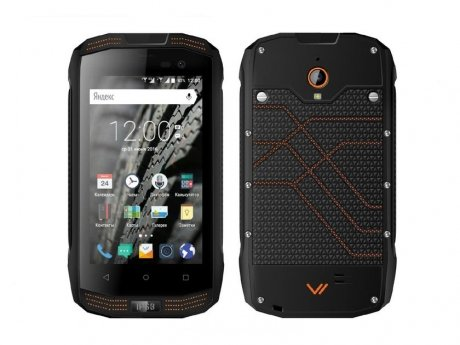 Смартфон Vertex Stark Impress Strong Black Orange смартфон vertex impress action black orange