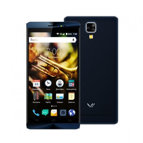 Смартфон Vertex Impress Jazz Black/Grey смартфон vertex impress action black orange