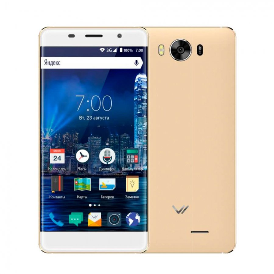 Смартфон Vertex Impress In Touch (4G) Gold цена и фото