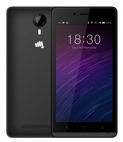 Смартфон Micromax Q354 Black смартфон micromax bolt q379 yellow
