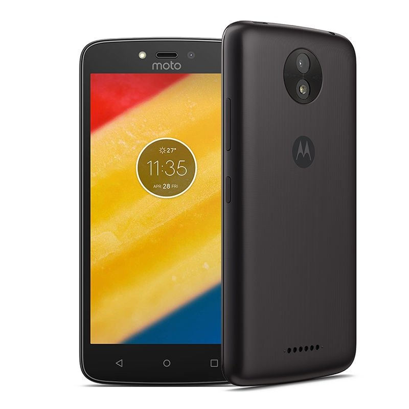 Смартфон Motorola Moto C 8Gb 1Gb Starry Black смартфон motorola moto c 3g xt1750 pearl white