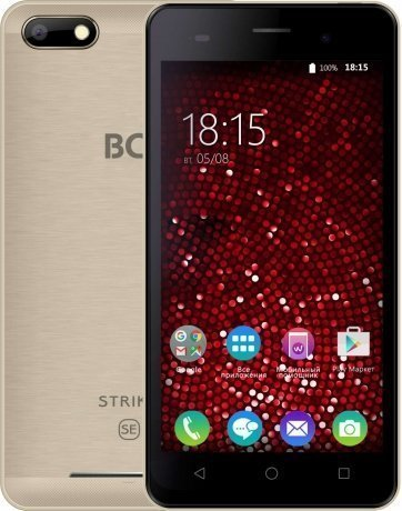 Смартфон BQ Mobile BQ-5020 Strike Gold Brushed смартфон bq mobile strike power gold brushed bq 5059