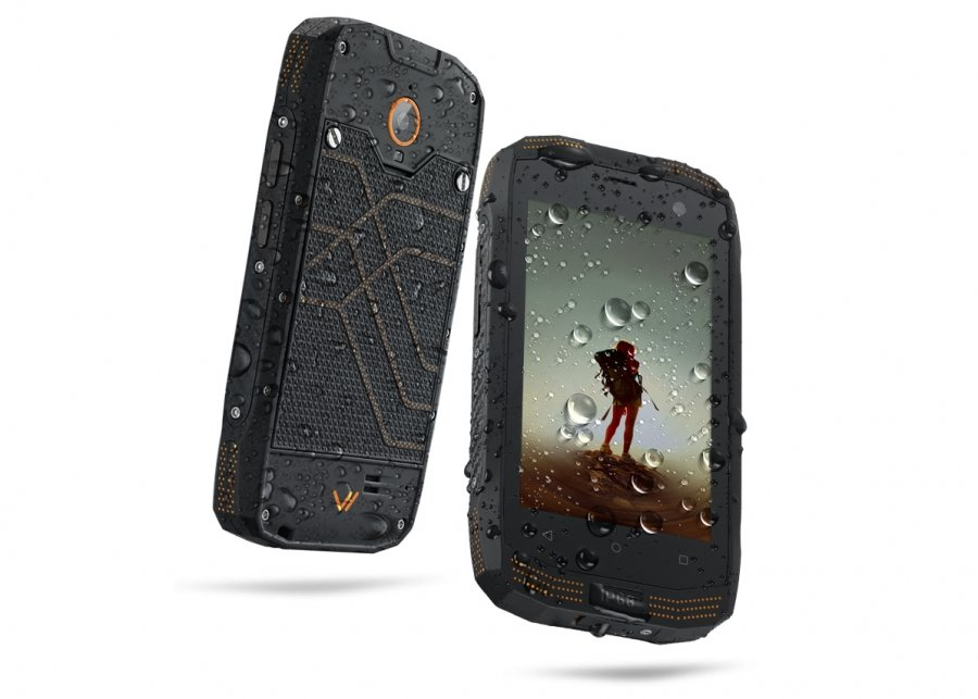 Смартфон Vertex Impress Action black/orange цена