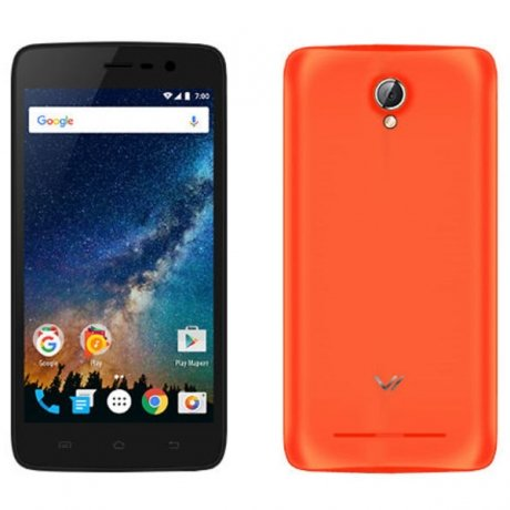Смартфон Vertex Impress Saturn Orange смартфон vertex impress action black orange