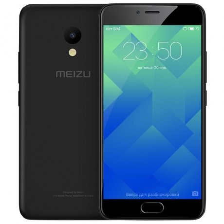 Смартфон Meizu M5s 16Gb Black смартфон meizu m5 note m621h 16gb серый
