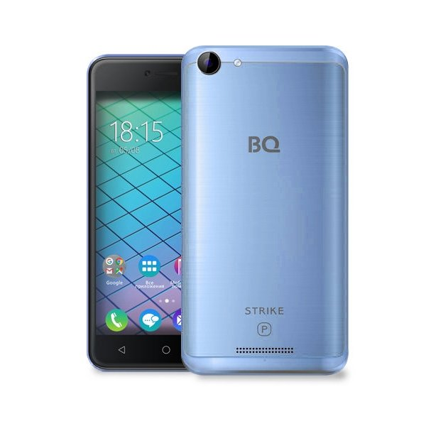Смартфон BQ BQ-5059 Strike Power Blue смартфон bq bq 5510 strike power max 4g золотистый mediatek mt6737 1гб 8 гб 5 5 1280x720 13mpix dualsim 3g 4g bt android 7 0