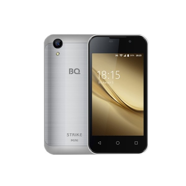 Смартфон BQ BQ-4072 Strike Mini Silver