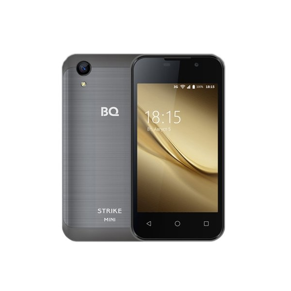 Смартфон BQ BQ-4072 Strike Mini Dark Gray смартфон bq bq 4072 strike mini blue