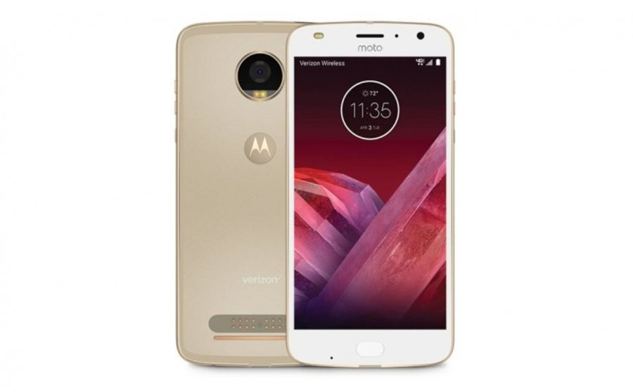 Смартфон Motorola Moto Z2 Play 64Gb XT1710 Gold смартфон motorola moto g5s 3 32gb xt1794 gold