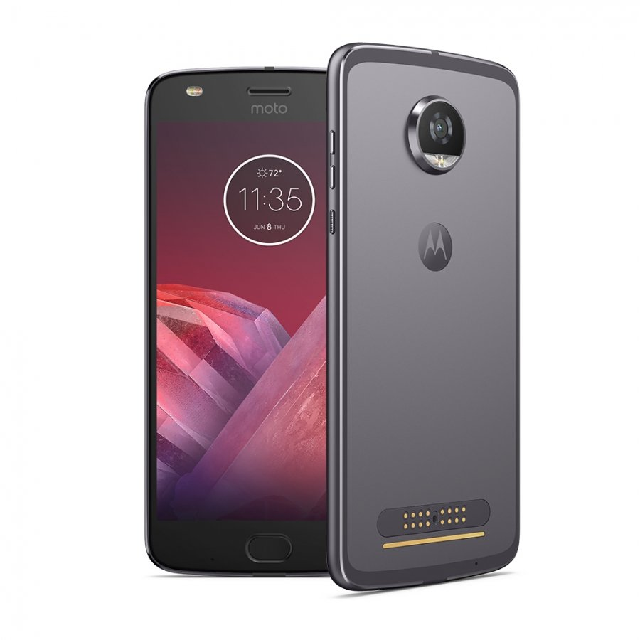 Смартфон Motorola Moto Z2 Play 64Gb XT1710 Grey смартфон motorola moto z play xt1635 02 black