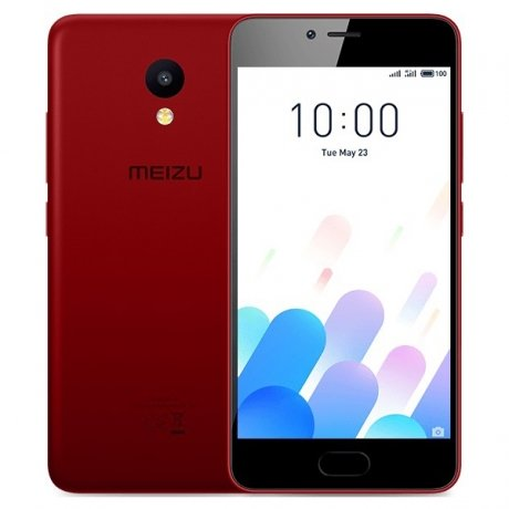 Смартфон Meizu M5c 16Gb M710H Red смартфон meizu m5 note m621h 16gb серый