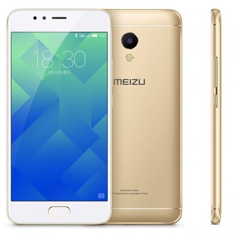 Смартфон Meizu M5s 16Gb M612H Gold смартфон meizu m5 note m621h 16gb серый