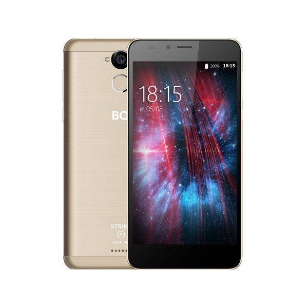 Смартфон BQ 5510 Strike Power MAX 4G Gold cubot max 4g смартфон