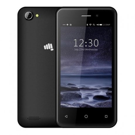 Смартфон Micromax Q3001 Black смартфон micromax bolt q379 yellow