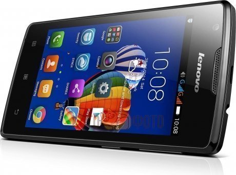 Смартфон Lenovo A1000 Single Sim Black