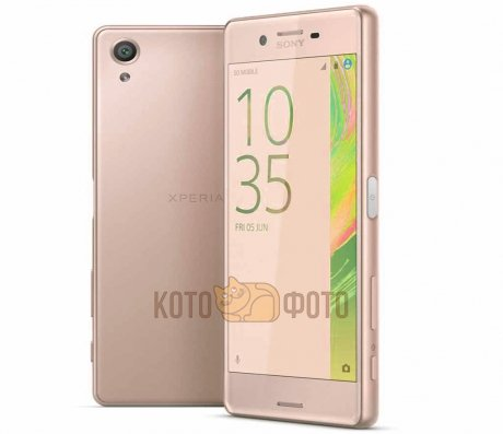 Смартфон Sony Xperia X F5121 Rose Gold