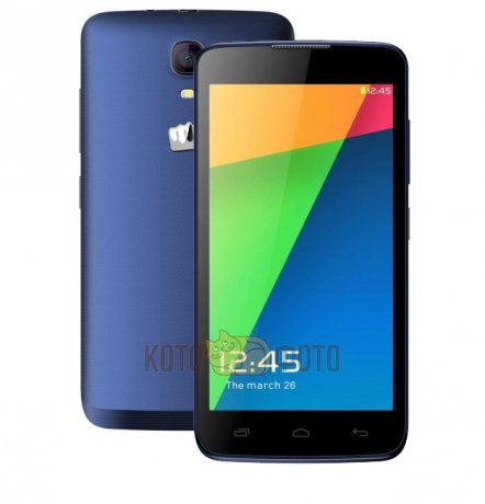 Смартфон Micromax Bolt Q383 Blue смартфон micromax bolt q379 yellow