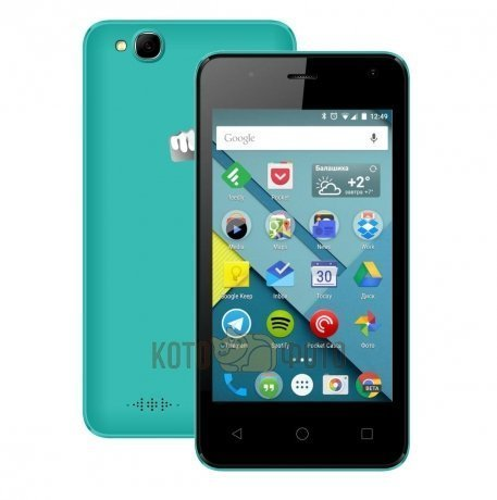 Смартфон Micromax Canvas Pace mini Q401 Green LTE смартфон micromax bolt pace q402 dark blue