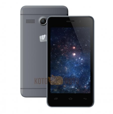 Смартфон Micromax Bolt Q326 Grey смартфон micromax bolt q379 yellow