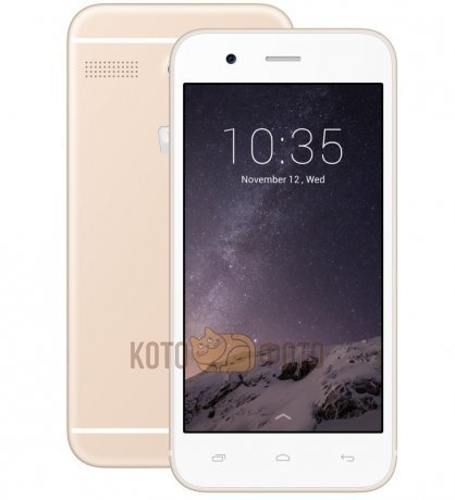 Смартфон Micromax Q346 Champagne смартфон micromax bolt q379 yellow