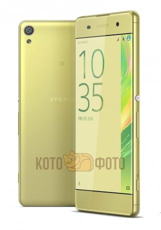 Смартфон Sony Xperia XA Dual F3112 Lime Gold смартфон sony xperia xa lime gold android 6 0 marshmallow mt6755 2000mhz 5 0 1280x720 2048mb 16gb 4g lte [f3111lime gold]