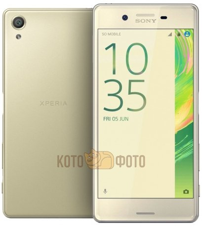 Смартфон Sony Xperia X Performance F8131 Lime Gold смартфон sony xperia x lime gold android 6 0 marshmallow msm8956 1800mhz 5 0 1920x1080 3072mb 32gb 4g lte [f5121lime gold]