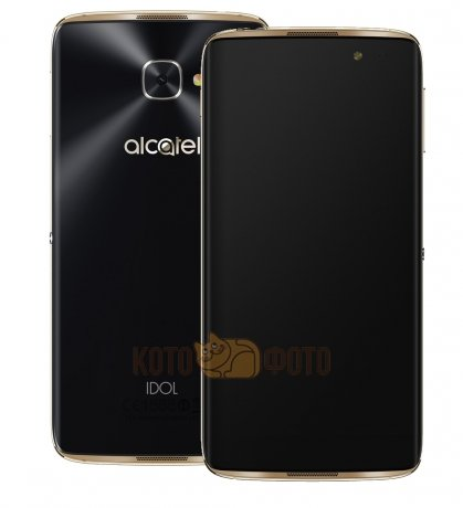 цены  Смартфон Alcatel One Touch Idol 4S 6070K Gold