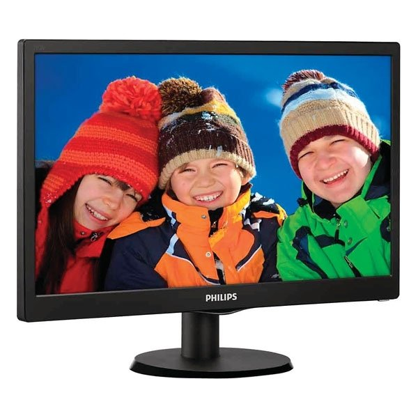 Монитор PHILIPS 193V5LSB2 (10/62) монитор 19 philips 193v5lsb2 10 62