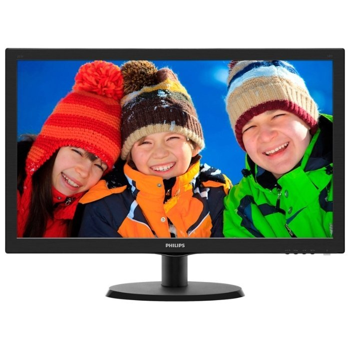цена на Монитор PHILIPS 223V5LHSB2 Black (00/01)
