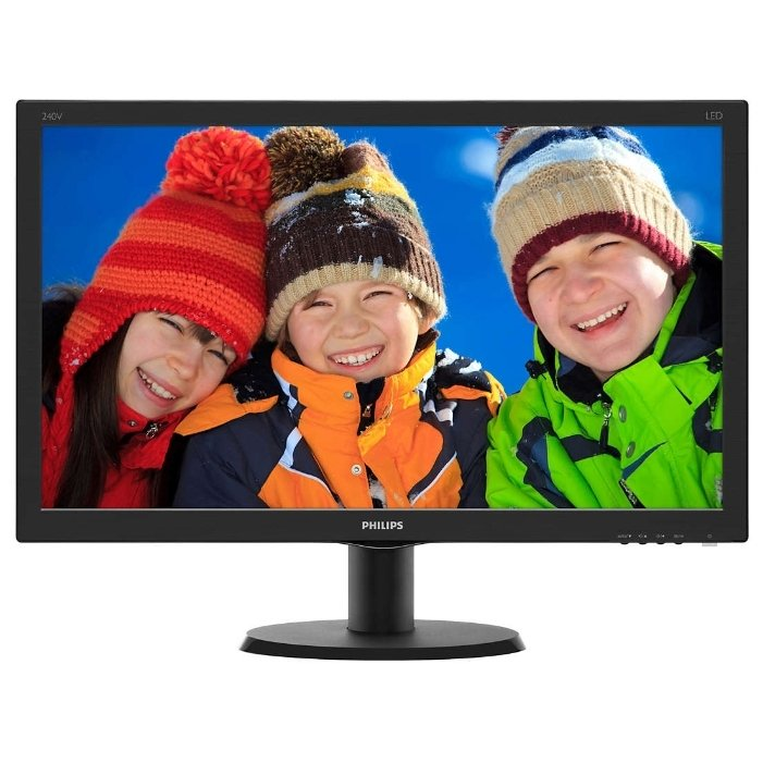 Монитор PHILIPS 240V5QDAB (00/01) монитор philips 223v5lsb2
