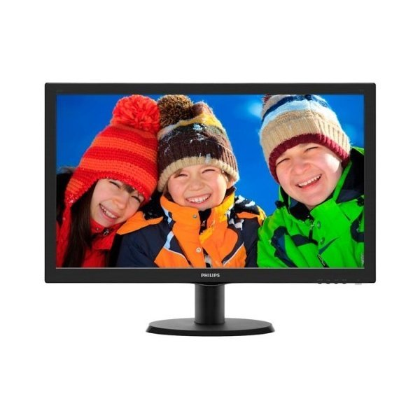 Монитор PHILIPS 243V5LHAB5 (00/01) монитор philips 243v5qhaba