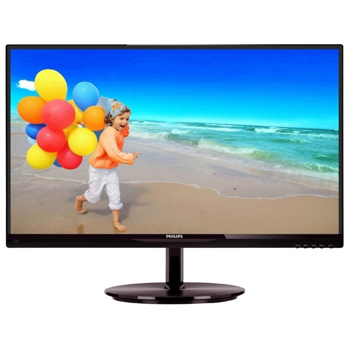 цена на Монитор PHILIPS 234E5QSB Black (00/01)