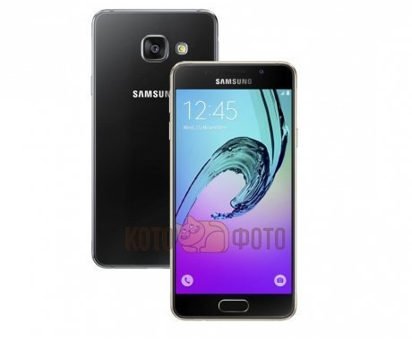 Смартфон Samsung Galaxy A5 (2016) SM-A510F/DS Black samsung galaxy a5 sm a510f ds pink gold