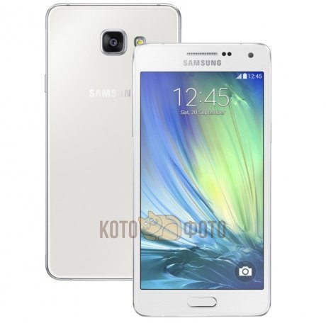 Смартфон Samsung Galaxy A5 (2016) SM-A510F/DS White samsung galaxy a5 sm a510f ds pink gold