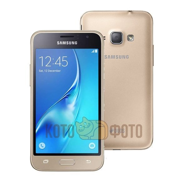 Смартфон Samsung Galaxy J1 (2016) SM-J120F/DS Gold сотовый телефон samsung sm j120f ds galaxy j1 2016 black
