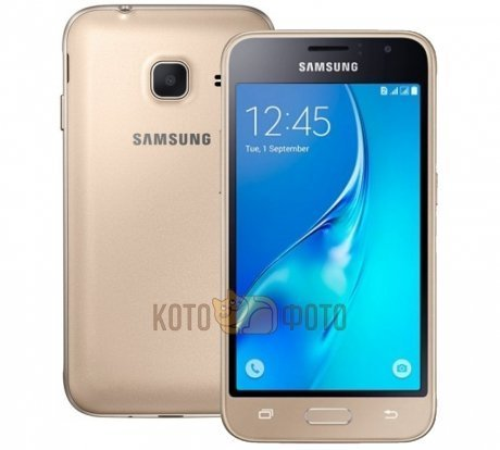 Смартфон Samsung Galaxy J1 mini SM-J105H/DS 8Gb Gold samsung galaxy j1 mini 2016 sm j105h 8gb black