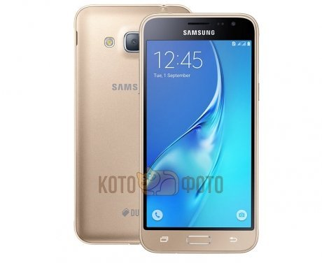 Смартфон Samsung Galaxy J3 (2016) SM-J320F/DS Gold  samsung galaxy j3 2016 sm j320f 4g 8gb gold