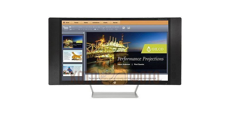 Монитор HP 27 S270c 300cd 178гр/178гр 1920x1080 D-Sub DisplayPort FHD монитор 23 8 philips 241b7qpteb черный ips 1920x1080 250 cd m^2 5 ms hdmi displayport mini displayport vga аудио usb