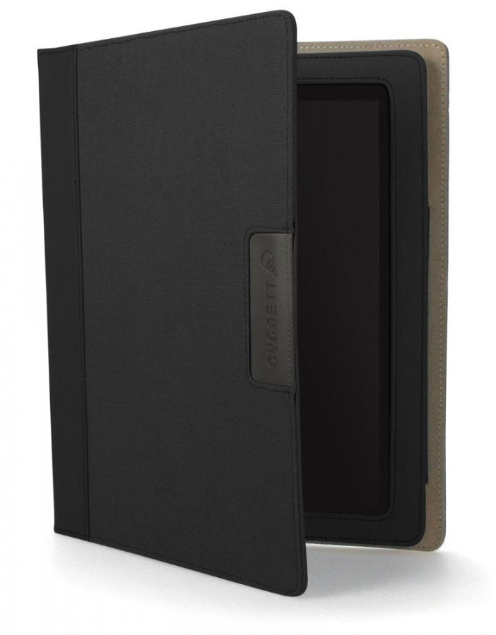 Cygnett Canvas folio for iPad Black