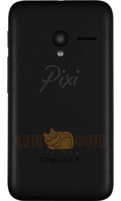 Смартфон Alcatel Pixi 3 4013D Volcano Black