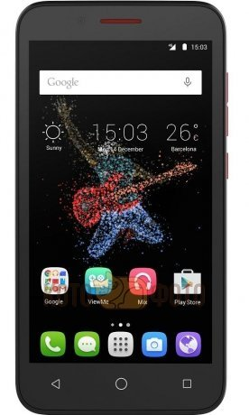 Cмартфон Alcatel One Touch 7048X Go Play LTE Black Red