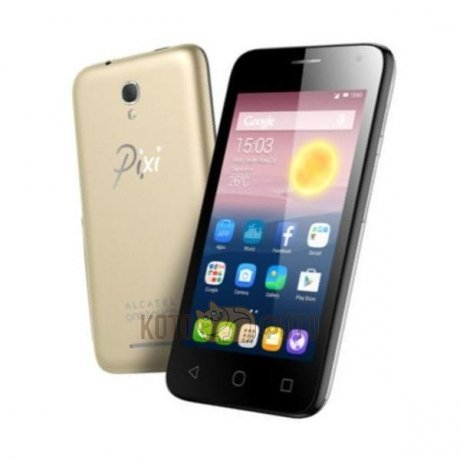 Смартфон Alcatel One Touch Pixi First 4024D Black Gold